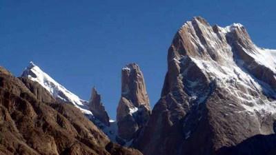 バルトロの名峰たちが見えてきました