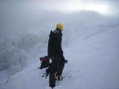 赤岳 主稜へ