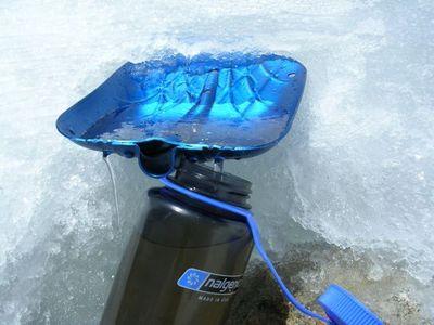 まあ、冷たい水でもどーぞ!