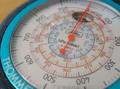 アネロイド式気圧高度計