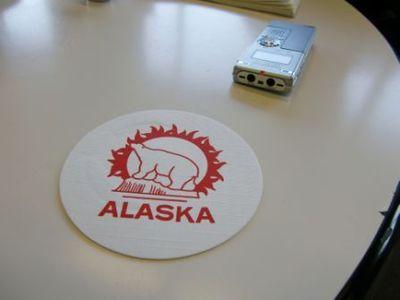 アラスカに来てます