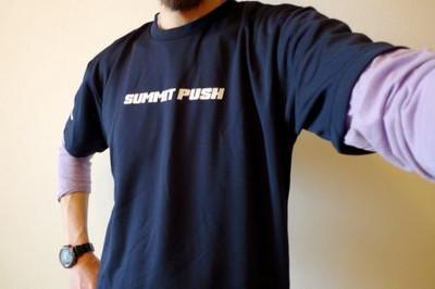 SUMMIT PUSH Tシャツ プレゼント!