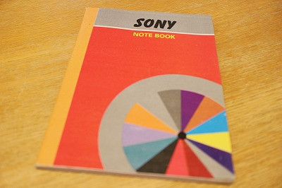 ソニーのノート