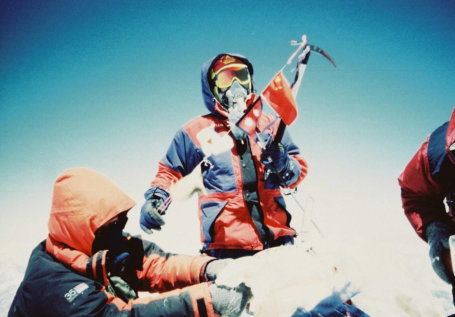 エベレスト登頂成功