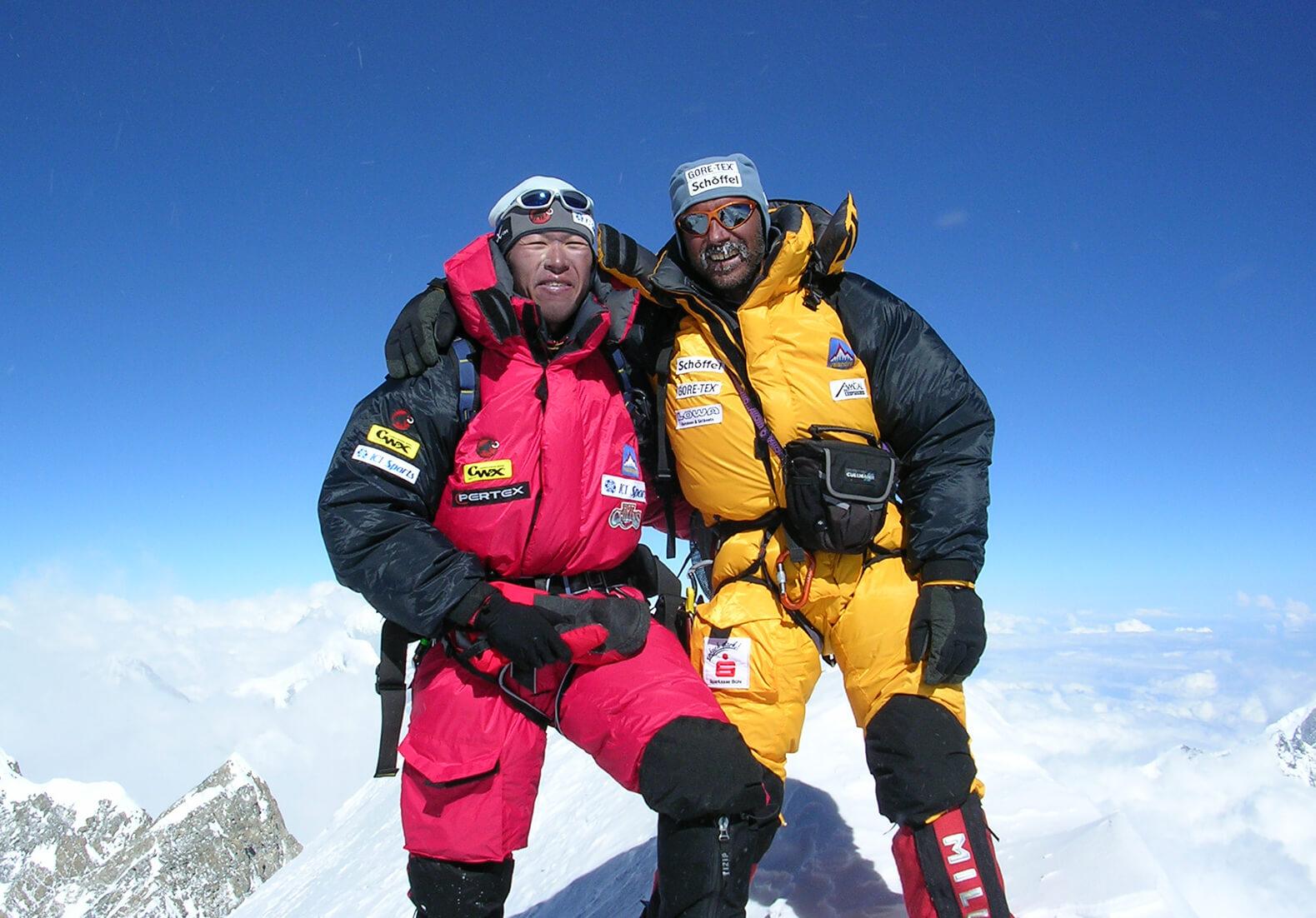 アンナプルナ登頂成功